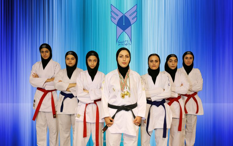 6 Gold Medals for IAUA Girls in Karate
